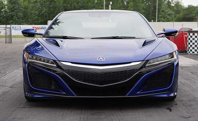 The Acura NSX is Ready for Winter and Here's Why