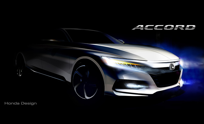 2018 Honda Accord Teases its Sporty Styling