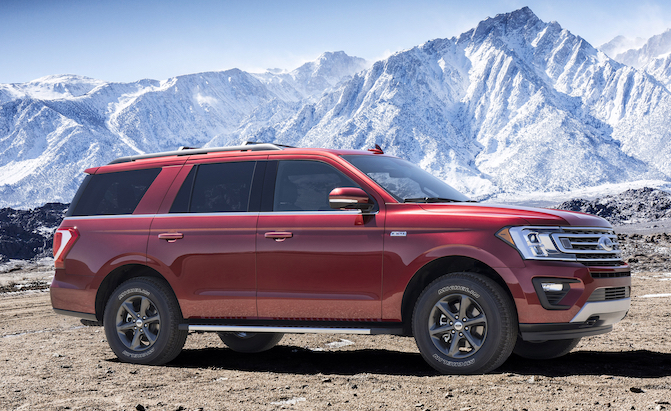 Ford Expedition Lineup Gets New FX4 Off-Road Model