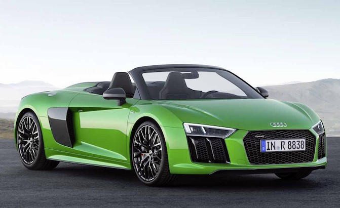 The R8 Spyder V10 Plus is Audi's Most Powerful Convertible Ever