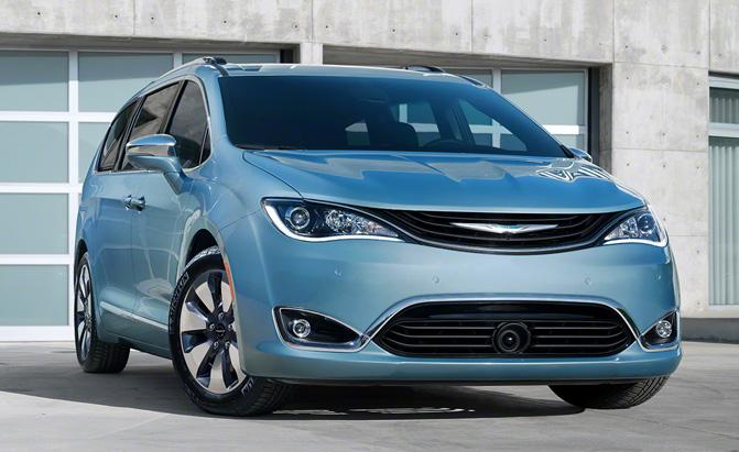2017 Chrysler Pacifica Hybrid Voluntarily Recalled