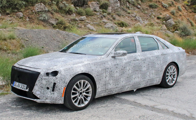 2019 Cadillac CT6 Spied Testing with Escala-Inspired Styling