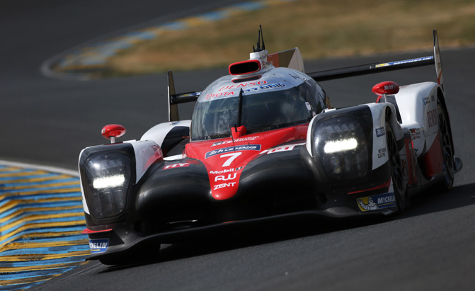 Toyota Sets New Lap Record During Qualifying at Le Mans