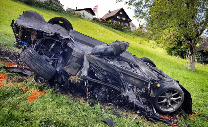 Details Surface from Richard Hammond's Crash