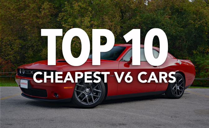 Top 10 Cheapest V6 Vehicles