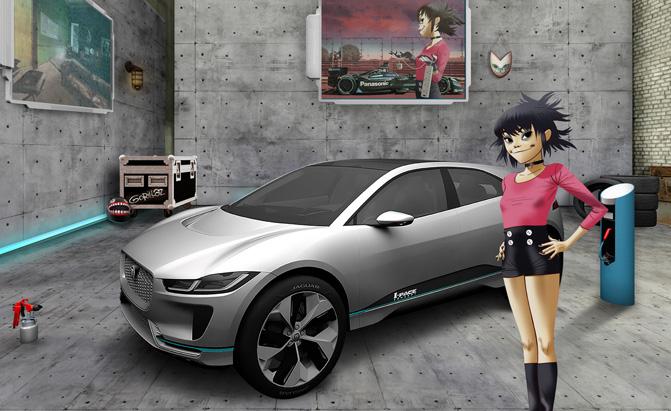 Jaguar Land Rover Turns to Gorillaz to Recruit New Talent