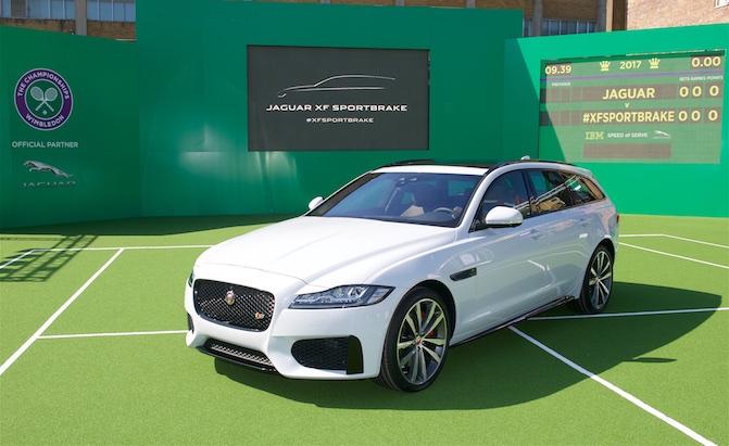 Jaguar XF Sportbrake Wagon Revealed
