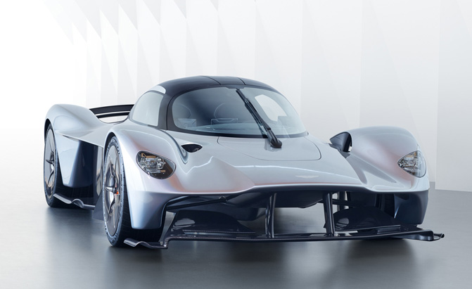 Aston Martin Finally Releases Some Details on its Hypercar