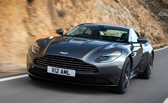 Aston Martin DB11 Recalled Over Tire Pressure Monitor
