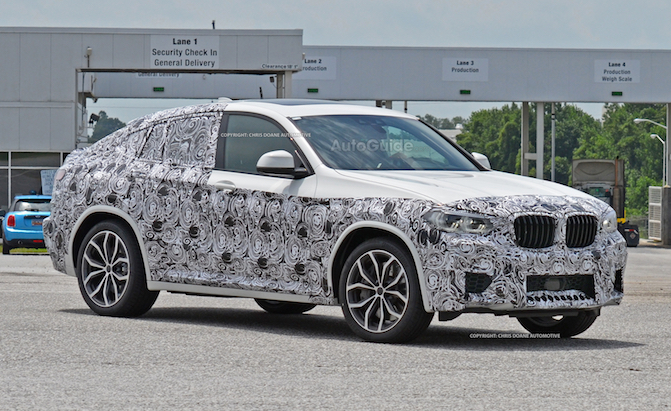 The BMW X4M is Coming in 2019