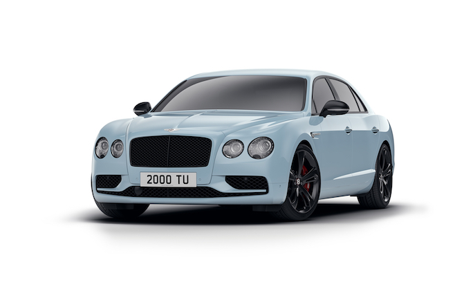 Bentley Gives the Flying Spur V8 S a Mild Sport Injection