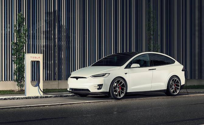 German Tuner Rolls Out Carbon Body Kit for Tesla Model X