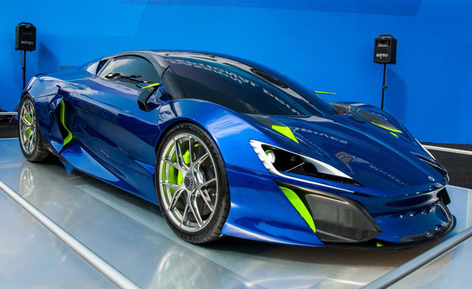 Hey Look! Another 1,000-HP Hybrid Hypercar Has Arrived