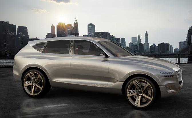 Hyundai's Genesis Brand Eyes Coupes, SUVs