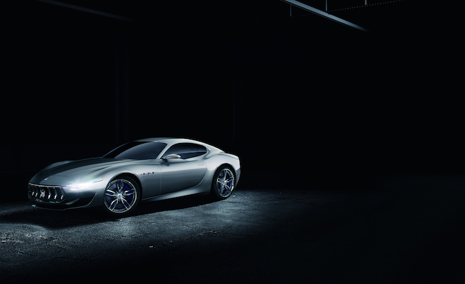 A Pure Electric Maserati Sports Car is on the Way