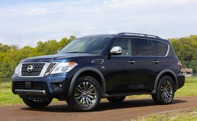 2018 Nissan Armada Platinum Reserve Adds Even More Luxury