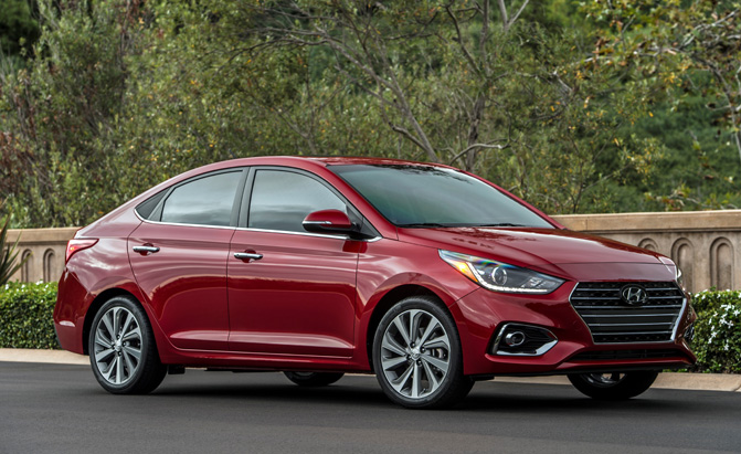 Hyundai Accent Ditches Hatchback for 2018 Redesign