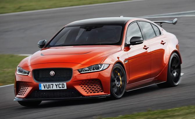 Jaguar's Hot Sedan Will Set You Back Nearly $200K