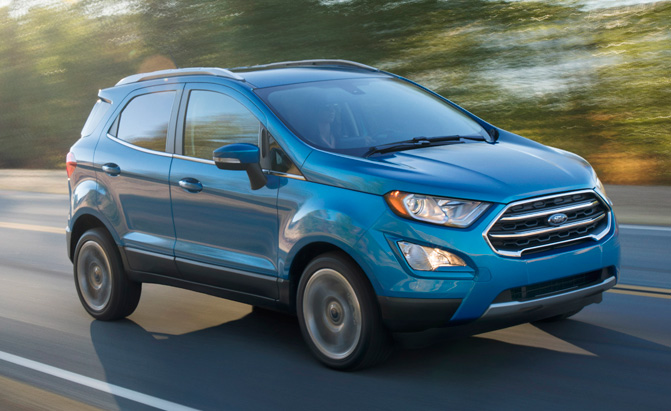 The 2018 Ford EcoSport Starts at $20,990