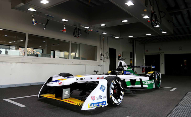 Audi Introduces its First Ever Formula E Car
