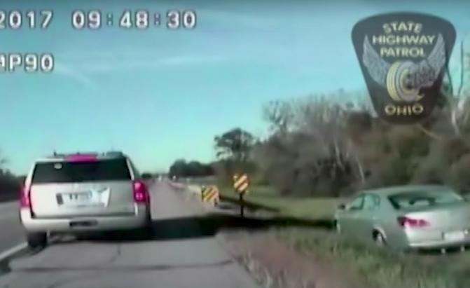 10-Year-Old Ohio Boy Goes Joyriding on the Freeway