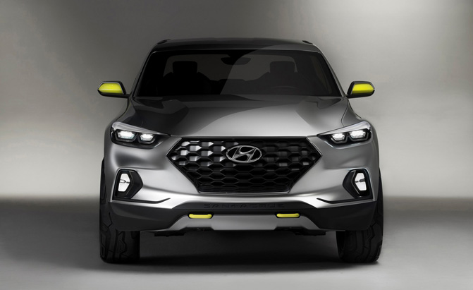 Hyundai Mulls V6 Engine For Production Santa Cruz Pickup