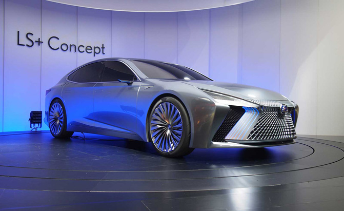Lexus Will be First to Receive Toyota's Self-Driving Technologies