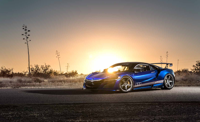 A Tastefully Tuned Acura NSX is Heading to SEMA