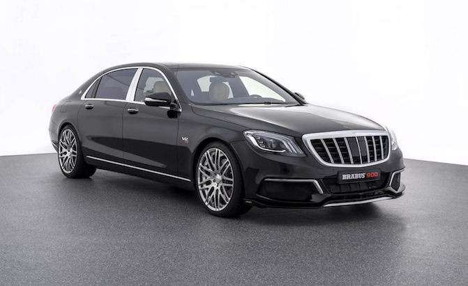 Not Even the S650 Maybach is Safe From the Mad Minds at Brabus