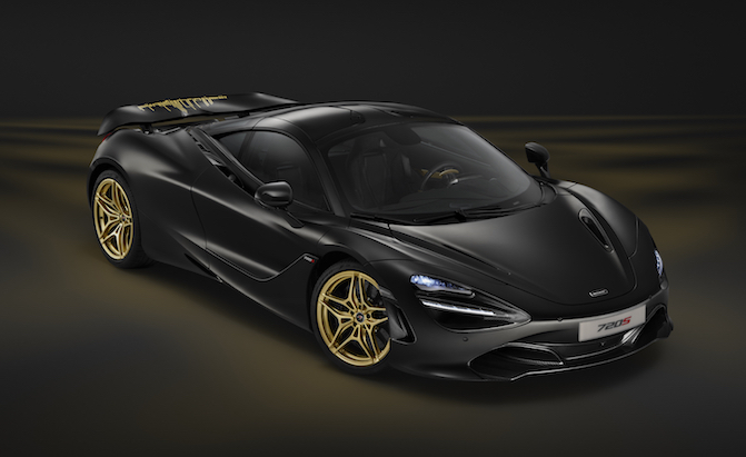 1 of 1 McLaren 720S MSO is a Black and Gold Ode to Dubai