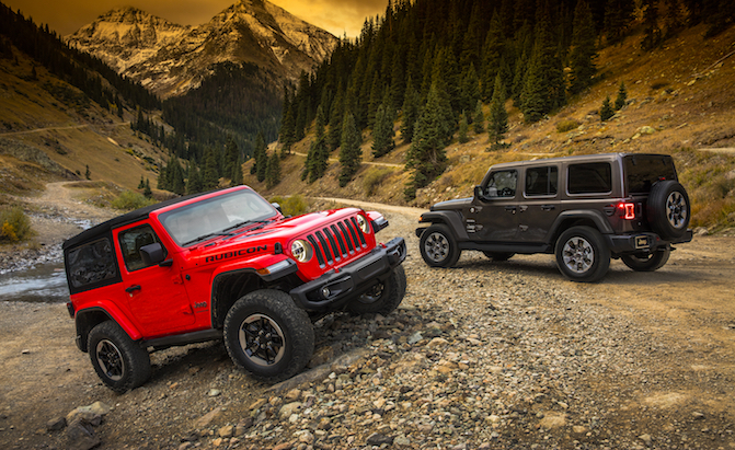New 2018 Jeep Wrangler JL Debuts With 3 Engine Options, Upscale Cabin