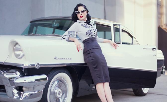 Buy It! Dita Von Teese's Vintage Mercury is Up for Sale