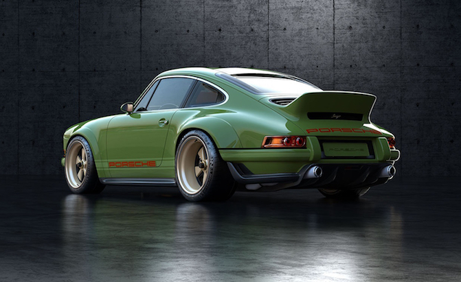 Singer and Williams Debut the Achingly Cool 911 964 'DLS'