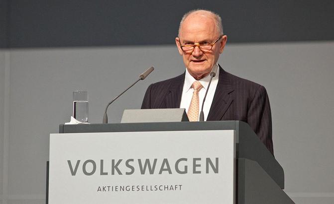Ferdinand Piech Offloads VW Shares, Leaves Volkswagen Board