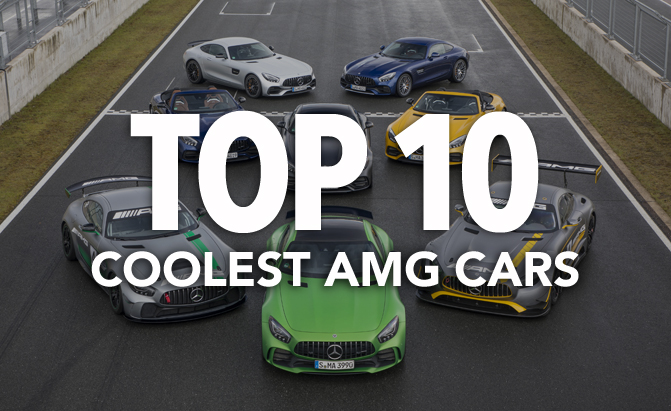 Top 10 Coolest AMG Cars to Ever Exist