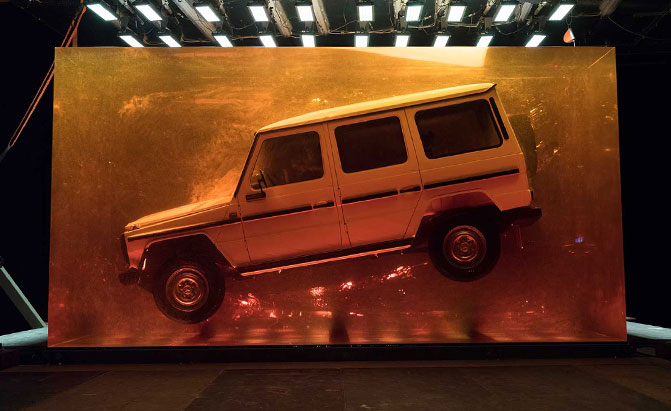 Mercedes-Benz G-Class Going Full 'G-Rassic Park' for Detroit