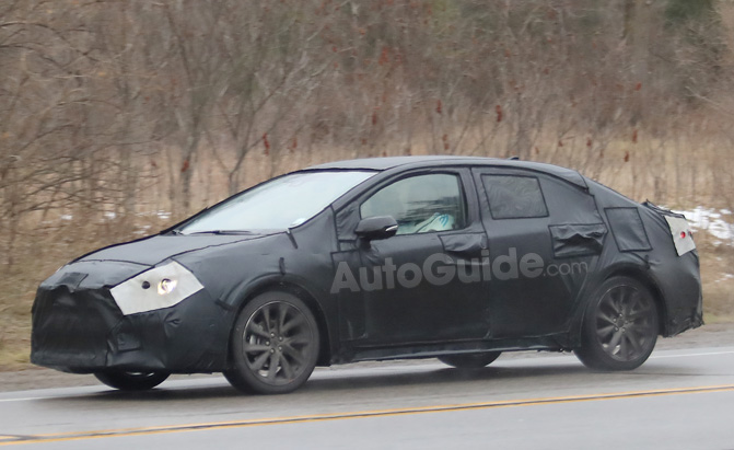 2020 Toyota Corolla Spied Testing for the First Time