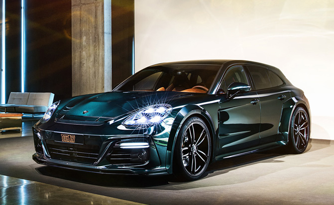 Porsche Panamera Sport Turismo Gets the Techart Treatment