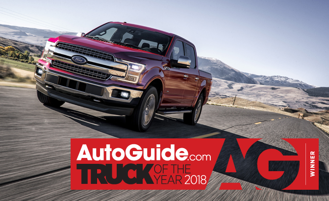 2018 Ford F-150 Awarded as AutoGuide.com's Truck of the Year