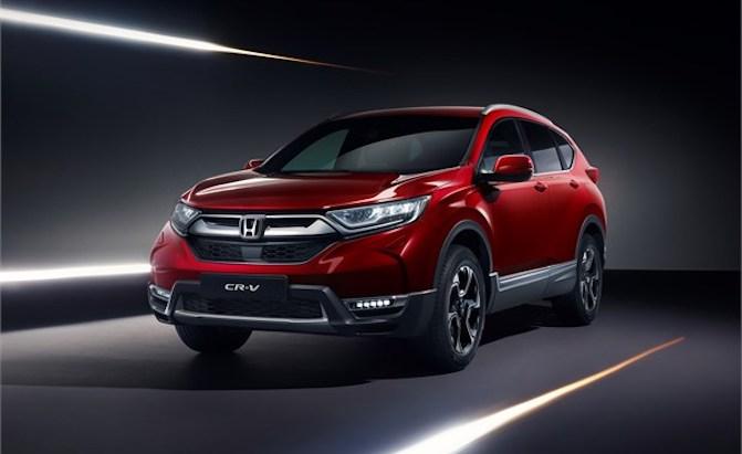 Honda CR-V Dumps Diesel for Hybrid Variant in Europe