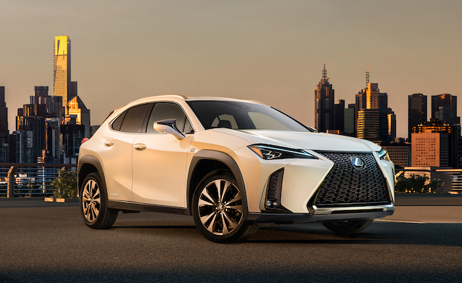 Check out the New 2019 Lexus UX Compact Crossover