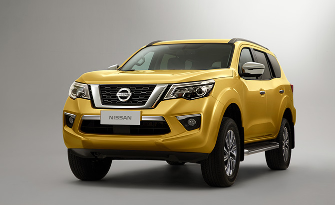Nissan Introduces its New Body-on-Frame SUV