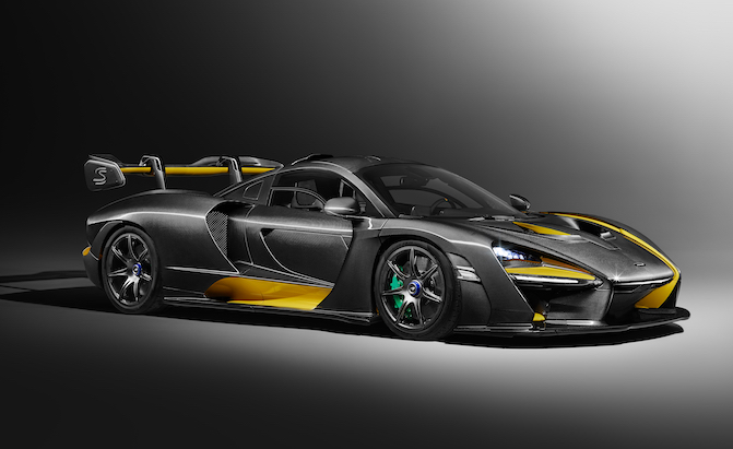 McLaren Senna MSO Has All the Carbon Fiber