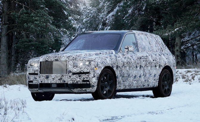 Rolls-Royce Cullinan Name Confirmed for Company's First SUV
