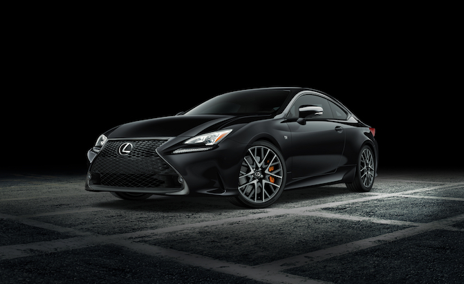 Lexus RC Gets New Black Line Special Edition for 2018