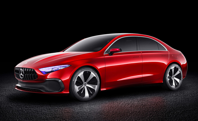 Mercedes A-Class Sedan Set to Debut Next Week