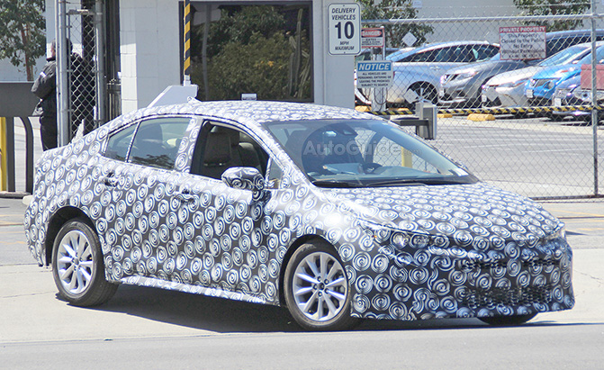 2020 Toyota Corolla Takes to the Streets of Los Angeles