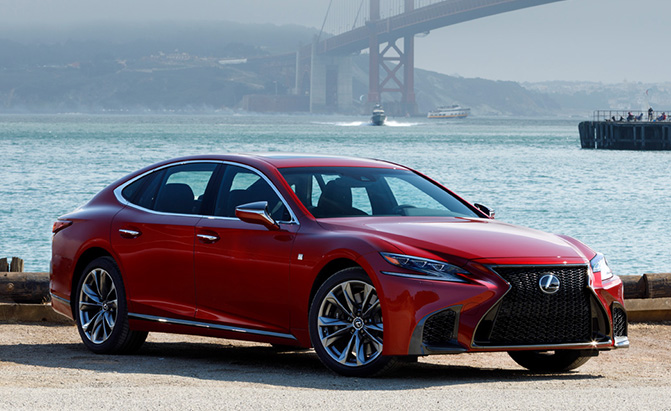 Lexus LS Could Get Electric and Fuel Cell Powertrains