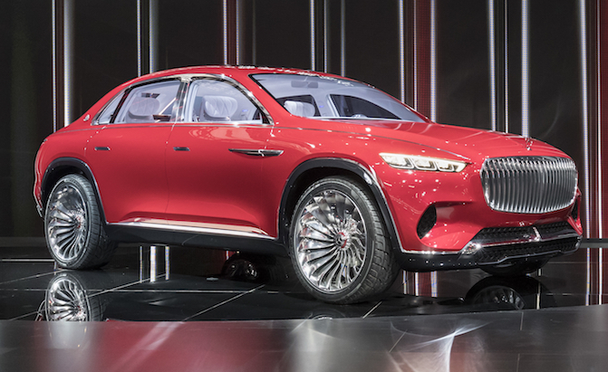 Maybach SUV to Feature New, Highly Advanced Suspension Tech