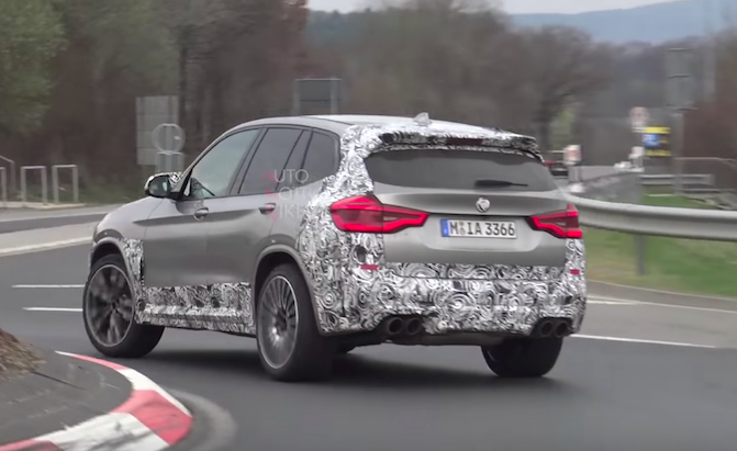 2019 BMW X3 M Looks Fast, Sounds Great at the 'Ring